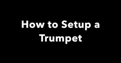 How to Setup a Trumpet