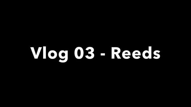 Vlog 03 – Reeds
